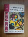 D9 Studiu de Valeriu Rapeanu - 3 dramaturgi contemporani