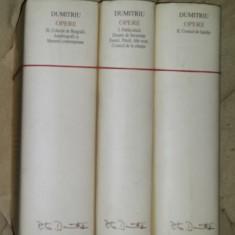 Petru Dumitriu OPERE 3 volume editie de lux velina Ed. Academiei 2004