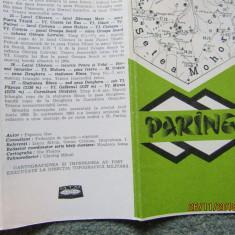 Munții Parâng - Directia Tipografica Militara 1983. Autor Nae Popescu.