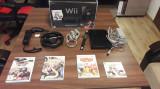 Nintendo Wii set complet+4 jocuri