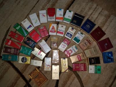 Vand colectie 41 pachete tigari foarte rare foto
