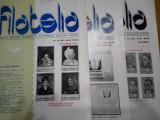 Revista filatelia-1984-nr.6,10,11,12