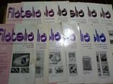 Revista filatelia-1986-set complet 12 numere