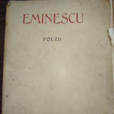 Eminescu -Poezii editie omagiala municipiului Bucuresti