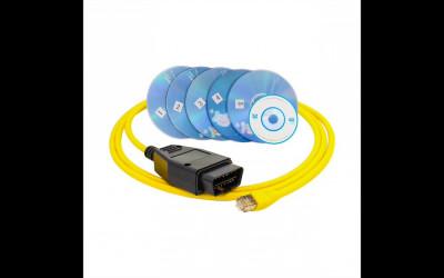 Tester, Interfata auto, Diagnoza Auto Scanner OBD2 E-SYS ICOM For BMW ENET foto