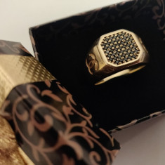 Inel 7,6 gr 14K, UNISEX 17-18mm, CHANEL Special Edition