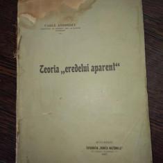 """Teoria """"eredelui aparent"""" - Vasile Antonescu"""