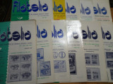 Revista filatelia-1987-set complet 12 numere
