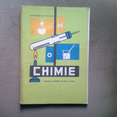 Chimie - manual pentru clasa a VIII-a - C. Rabega