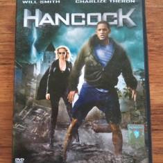 DVD film original, Hancock , subtitrat in limba romana.