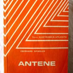 """ANTENE"", Eberhard Spindler, 1983, Alta editura"