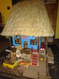 Căsuța handmade, artizanat, lemn.