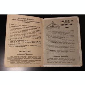 Libret de economii 1935 piesa rara