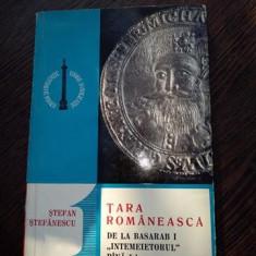 Stefan Stefanescu – Tara Romaneasca de la Basarab I intemeietorul pana la Mihai Viteazul