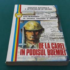 VETERANII PE DRUMUL ONOAREI ȘI JERTFEI *DE LA CAREI ÎN PODIȘUL BOEMIEI 1944-1945