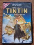 Aventurile lui TINTIN Secretul Licornului , subtitrat si dublat in limba romana., DVD