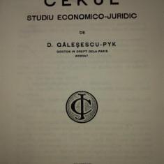 Cekul- studiu economico juridic- Galesescu Pik