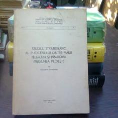 Studiul stratigrafic al pliocenului dintre vaile Teleajan si Prahova - Elisabeta Hanganu