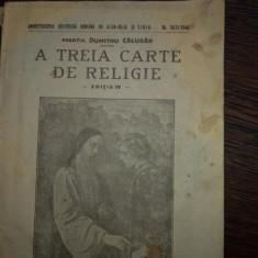 A treia carte de religie, prof. D. Calugar