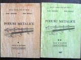 Poduri metalice - Vasile Bondariuc, Radu Bancila 2 volume