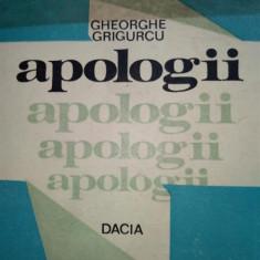 Apologii- G.Grigurcu
