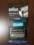 Rezerva pentru aparat de ras Braun 32S Seria 3 Argintiu