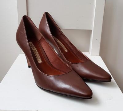 Pantofi Buffalo LONDON | masura 38, piele naturala foto