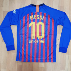 BLUZA MANECA LUNGA MESSI F.C.BARCELONA MARIMI S,M,L,XL,XXL, Din imagine