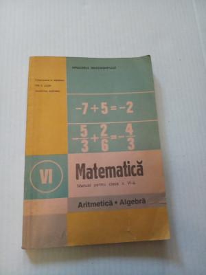 Matematica pentru clasa a VI-a  - Constantin Popovici foto