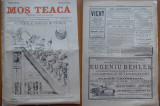 Ziarul Mos Teaca , jurnal tivil si cazon , nr. 109 , an 3 , 1897 , Bacalbasa