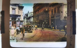 Foto sticla color Calea Victoriei Bucuresti - ani '20