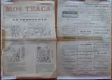 Ziarul Mos Teaca , jurnal tivil si cazon , nr. 25 , an 1 , 1895 , Bacalbasa