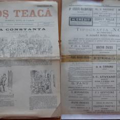 Ziarul Mos Teaca , jurnal tivil si cazon , nr. 25 , an 1 , 1895 , Bacalbasa