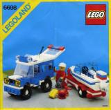 LEGO 6698 RV with Speedboat