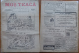 Ziarul Mos Teaca , jurnal tivil si cazon , nr. 40 , an 1 , 1895 , Bacalbasa