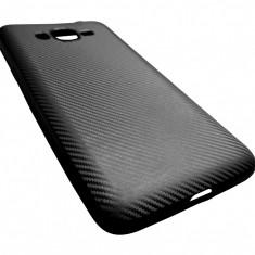 Husa silicon i-Zore aspect carbon neagra pentru Samsung Galaxy Grand Prime Plus (2016) G532F / Galaxy J2 Prime