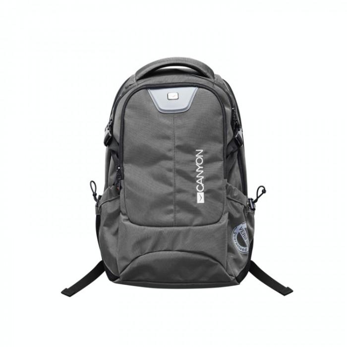 Rucsac laptop Canyon Urban Style CND-TBP5B7 , pana la 15.6 Inch , Nylon , Gri
