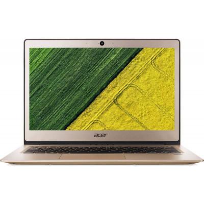 Laptop Acer Swift 1 SF114-32-P1W2 14 inch FHD Intel Pentium N5000 4GB DDR4 128GB SSD Linux Gold foto