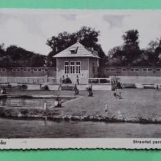Bacau 1936 - Strandul parcului Gheraesti