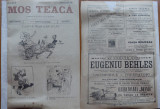 Ziarul Mos Teaca , jurnal tivil si cazon , nr. 60 , an 2 , 1896 , Bacalbasa