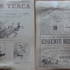 Ziarul Mos Teaca , jurnal tivil si cazon , nr. 60 , an 2 , 1896 , Bacalbasa