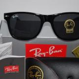 Ochelari de soare RAY BAN WAYFARER 2140-901 Black calitate premium, Plastic, Negru