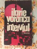 Interviul Ilarie Voronca