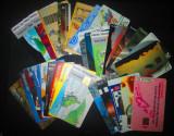 Lot de 32 cartele telefonice straine + bonus