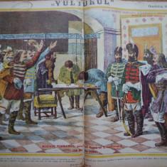Ziarul Vulturul , nr. 52 / 1906 , cromolitografie ; Mihai Viteazul