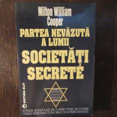 Partea nevazuta a lumii. Societati Secrete - Milton William Cooper