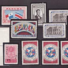 Panama - Lot timbre neuzate