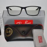 Rame ochelari de vedere RAY BAN 8145 negru mat - calitate premium, Rectangulara