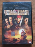 Pirates of the Caribbean: The Curse of the Black Pearl , film dvd , in romana