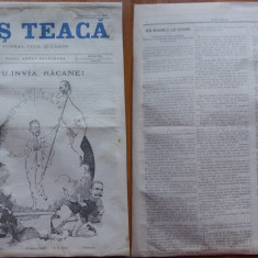 Ziarul Mos Teaca , jurnal tivil si cazon , nr. 2 , an 1 , 1895 , Bacalbasa